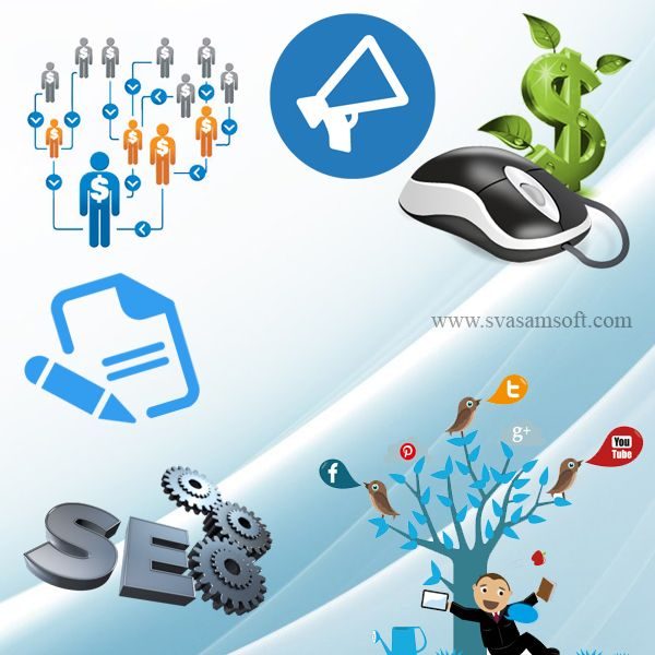 #Svasamsoft furnishes #digital_marketing services such as #SEO, #SEM, #SMO, #SMM, email #marketing, affiliate marketing, #article writing, #blogging and so on.