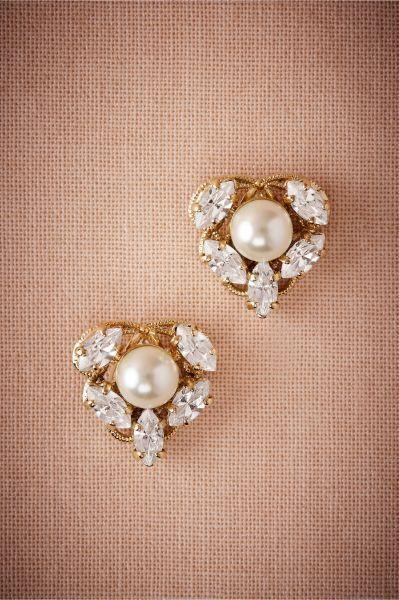 Bijoux de mariée avec des perles 2017 : classe et tradition au rendez-vous Image: 11