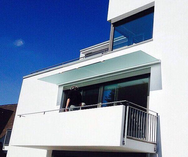 Dura bietet sich auch für die Balkon-Überdachung an