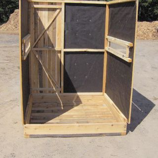 Deer Blinds | Cedar Wood Hunting Blind Kits for Sale
