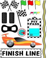 race track clip art | Car Race Scrapbook Graphics Sheet, Race Cars and Racing Clip Art ...