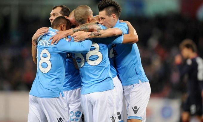 Napoli 6 - Cagliari 3