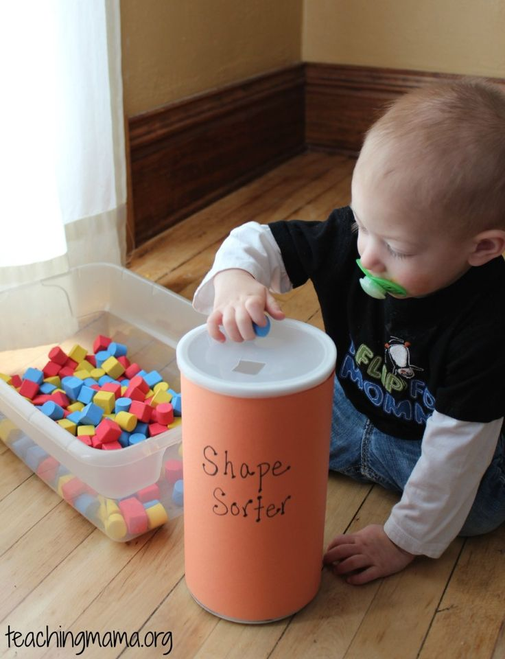 Teaching Mama: Toddler Tuesday-Shape Sorter Activity. Pinned by SOS Inc. Resources. Follow all our boards at pinterest.com/sostherapy for therapy resources.
