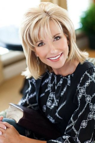 Sure Beth Moore might have big hair and use church-ladyisms, but she knows Jesus. Photo courtesy of Beth Moore