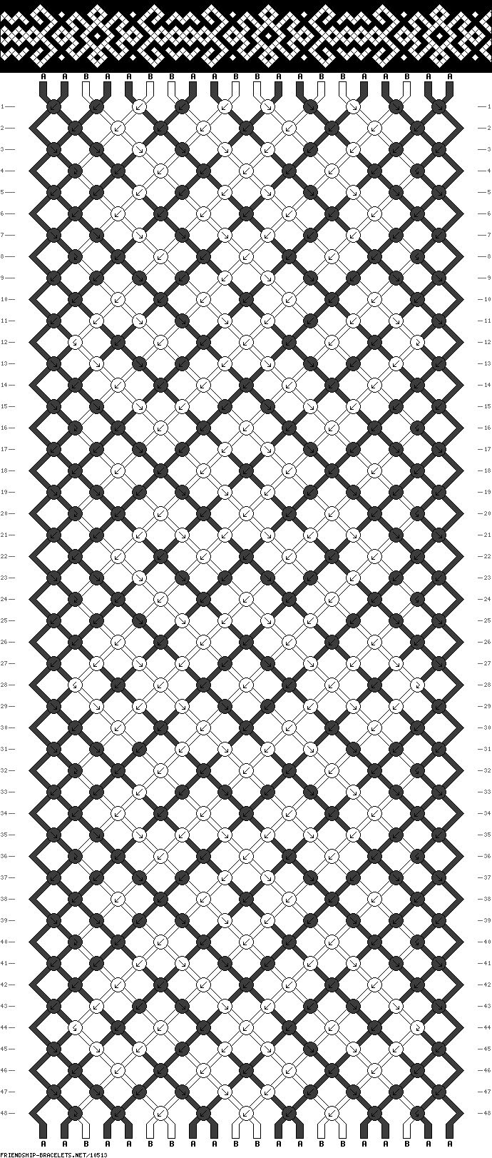 20 strings 48 rows 2 colors