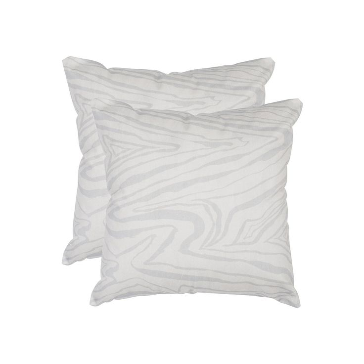 Safavieh 2-piece Marbella Throw Pillow Set, White