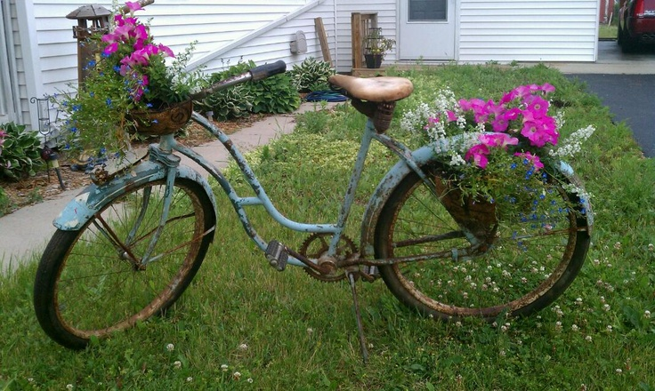 This is what I did with the old bike that I bought.Photos, Old Bikes, Bought