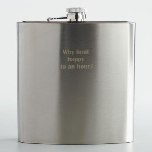 Happy Hour Giant Flask   World Market