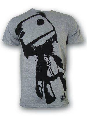 Sack Boy Little Big Planet Grey Men's T-Shirt