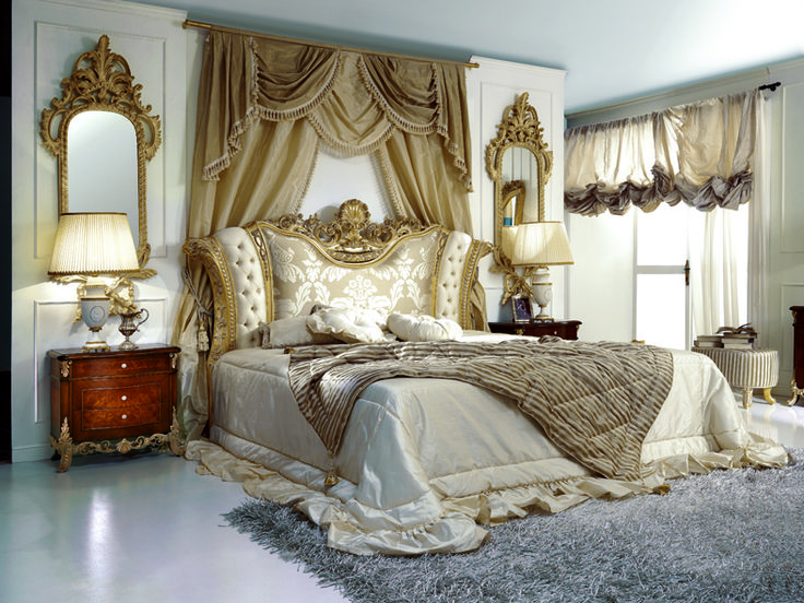 Vintage French Decor | French Antique Furniture Reproductions: French Style Bedroom Marie ...