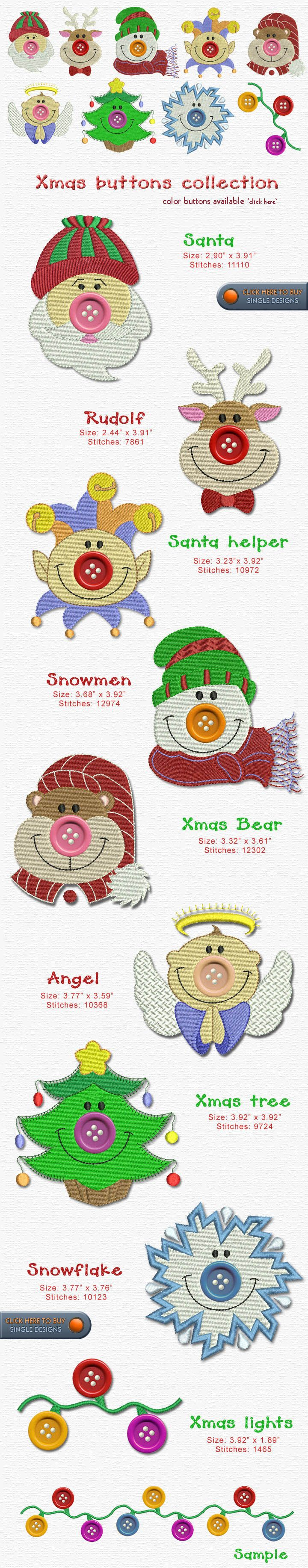 CHRISTMAS Embroidery Designs Free Embroidery Design Patterns Applique