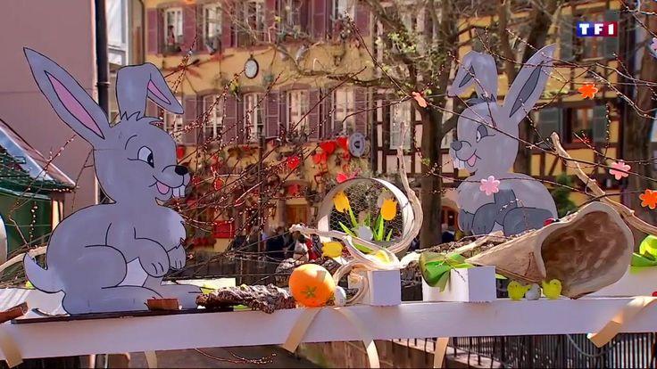 #FRANCE : MARCHÉ - En France, dans les villages d'Alsace, les marchés de Pâques ont envahi le centre-ville sur le modèle des marchés de Noël. Notamment à Colmar. Pour la septième année, le centre historique accueille chocolats, décorations et jouets en bois dans ses chalets. 70 artisans sont présents pour des milliers de visiteurs.