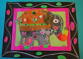 Elephants of India: Another great lesson that integrates with the 6th grade world cultures curriculum.