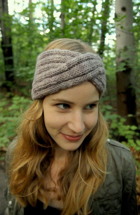 free knitting pattern headband