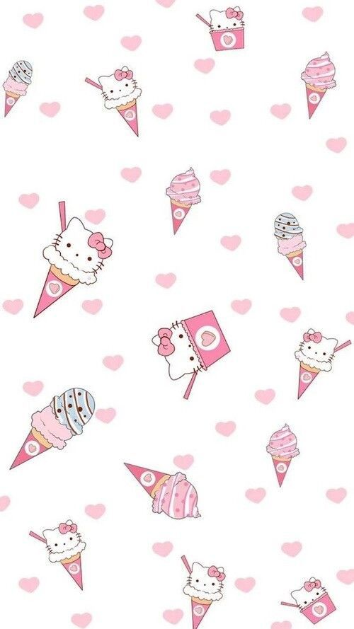 Hello Kitty kawai wallpaper