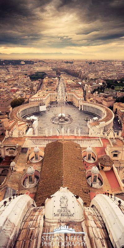St. Peter's Basilica, Italy - by Stefan Hefele