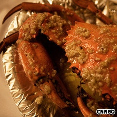Best Indian seafood restaurants in Mumbai - Trishna's famous butter, pepper, garlic crab
