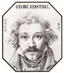 Georg Friedrich Kersting — Wikipédia