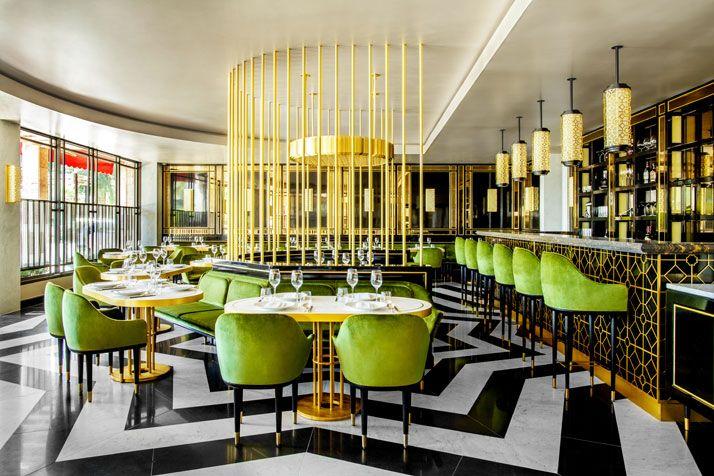 18 best id restaurant design images on pinterest. Black Bedroom Furniture Sets. Home Design Ideas