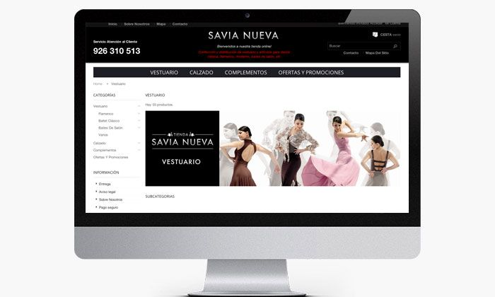 www.basicum.es/portfolio-item/diseno-tienda-online-savianuevatienda/ Diseño web tienda para Savia Nueva creado por Basicum.es