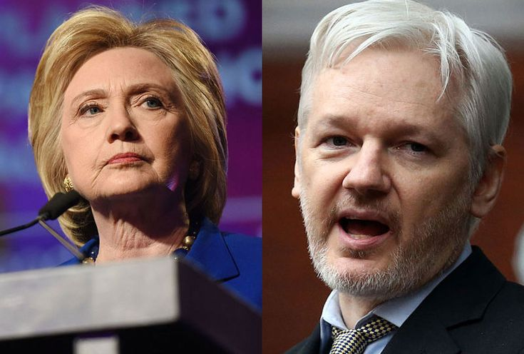 Julian Assange considers ABC right of reply after Hillary Clinton interview