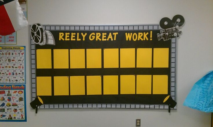 Lights Camera Action Quotes: My Movie Theme Bulletin Board