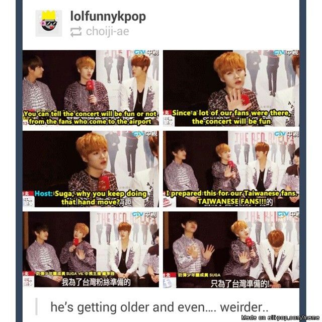 Jin is so done with him lol