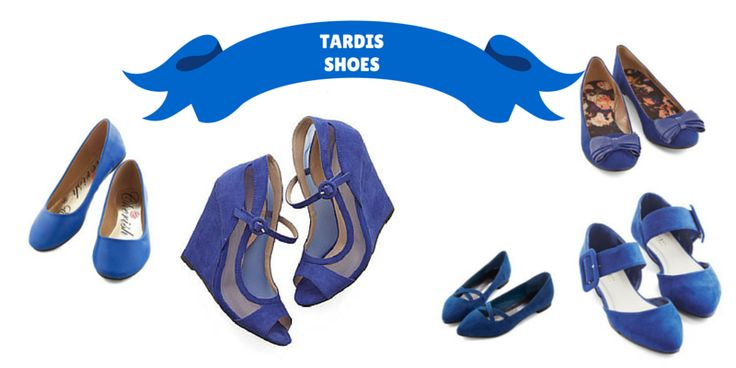This shoe post comes as a special request from Spaceginger, who specifically asked for a post all about TARDIS blue shoes. Now, I've got a whole archive dedicated to blue wedding shoes, and we've g...