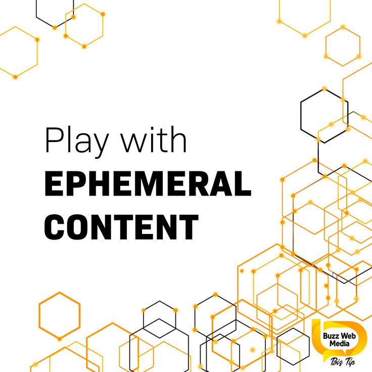 #EmphemeralContent refers to content that disappears after a period of time. Platforms such as #SnapChat & #Instagram are enabling users to broadcast #content that only last a certain amount of time. . Why not trial it out with your #business! Maybe show off an #event or you are at, make an announcement, or offer a one day special. --- #brand #branding #localbrand #brands #personalbranding #personalbrand #marketing #pr #marketingdigital #digitalmarketing #onlinemarketing #socialmedia #sm…