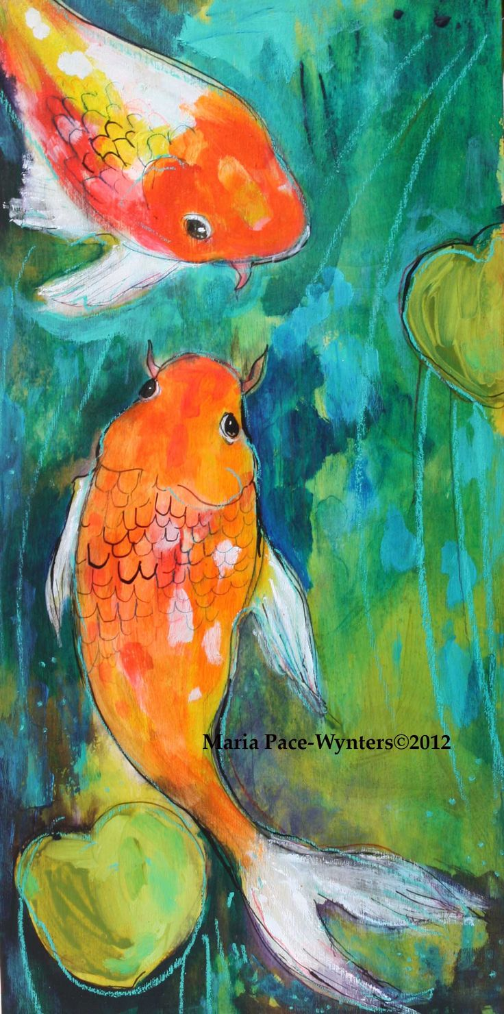 The Pond by Maria Pace-Wynters
