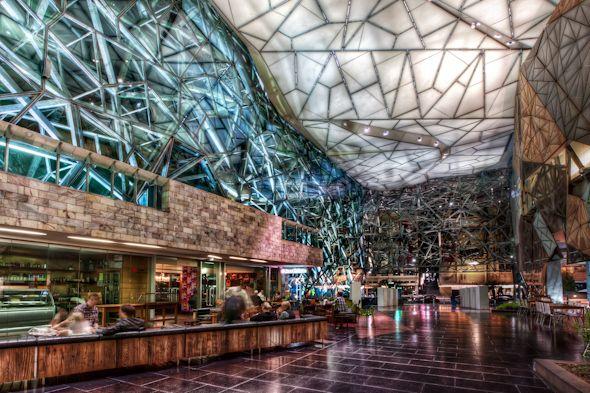 Australia Melbourne Federation Square HDR