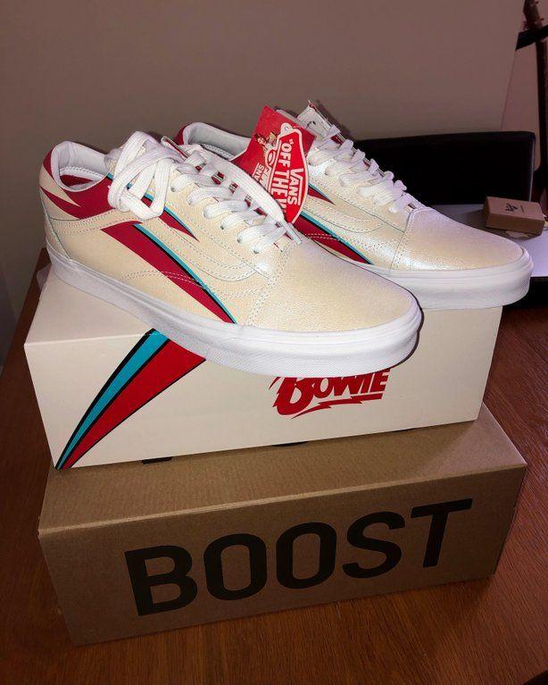 bowie sneakers vans
