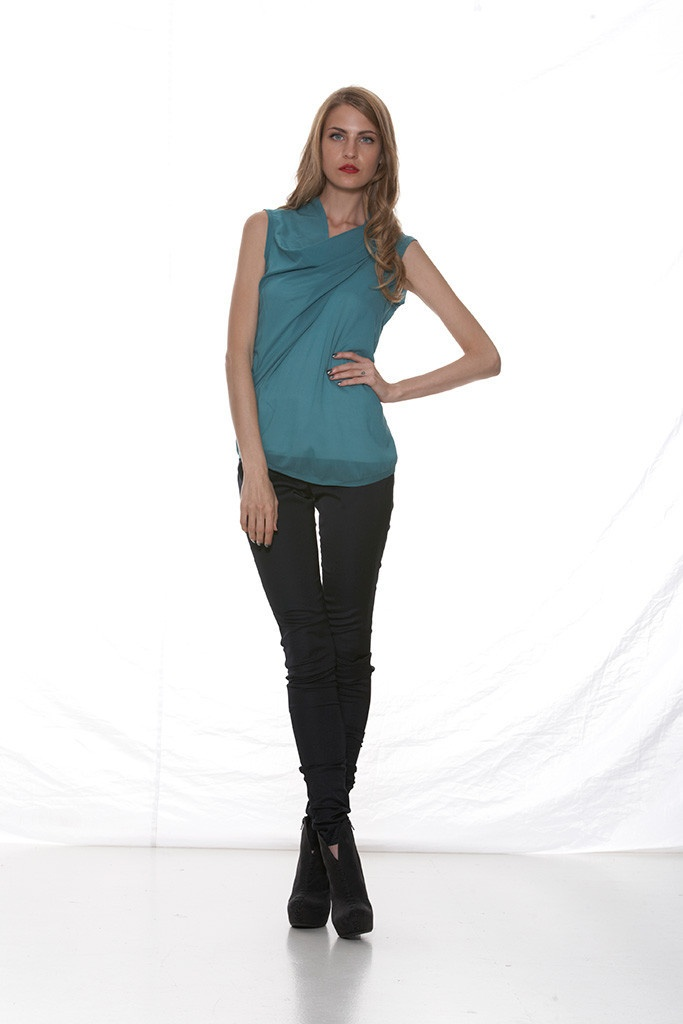 Taylor 'Shadow' Collection, Summer 12/13 www.taylorboutique.co.nz Integral Pant - Black