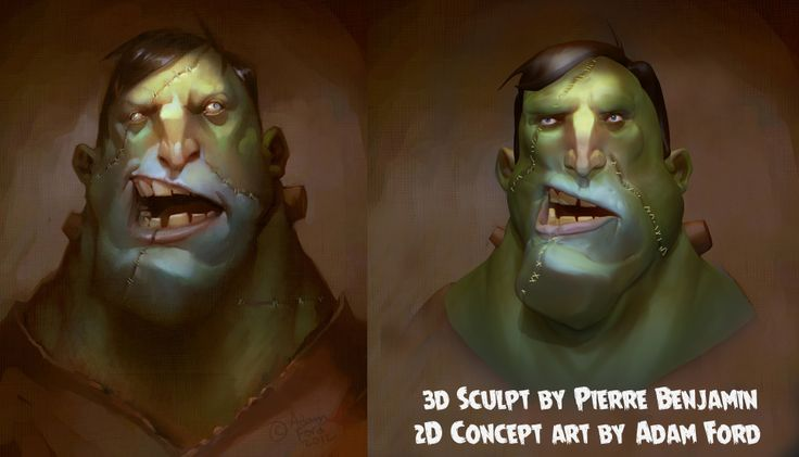 speed sculpt based on adam ford 2D concept