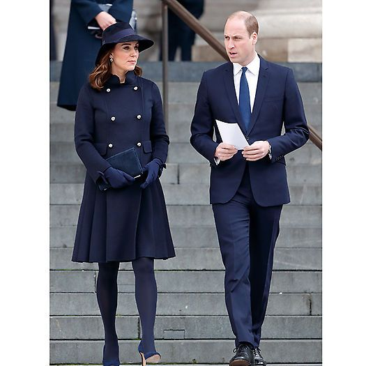 Prince William and the Duchess of Cambridge joined the local community to pay tribute to those affected by the Grenfell Tower national memorial service at St Paul's Cathedral on December 14. The multi-faith memorial service marked the six-month anniversary of the tragic building fire in which 71 people died. Photo: Max Mumby/Indigo/Getty Images