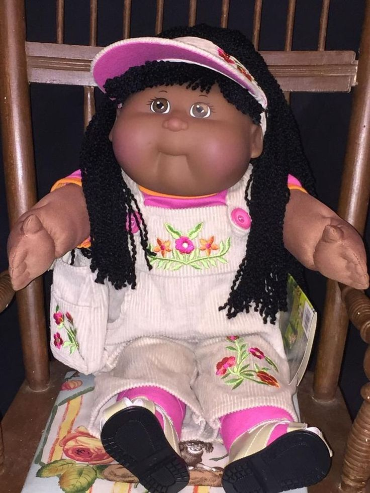 Cabbage Patch Tru Girl With Crimped Yarn Hair 179 Dolls