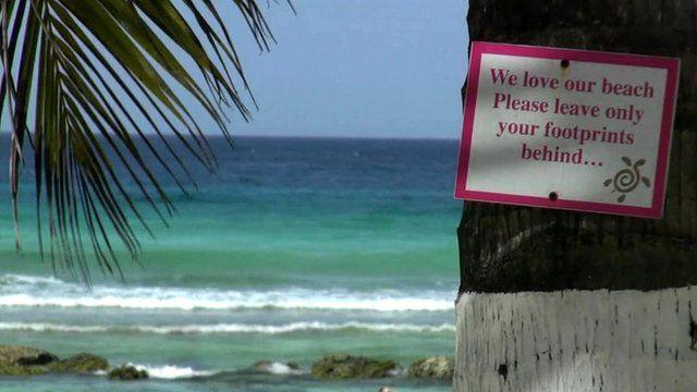 BBC News - Barbados: How 'paradise' stays clean. http://www.bbc.co.uk/news/world-latin-america-23270215