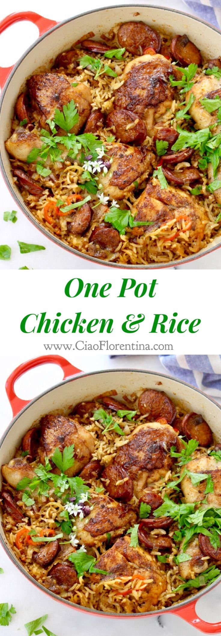 chicken and brown rice recipe a one pot healthy meal old world one pot ...