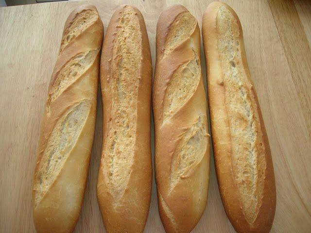 Corteza y miga: Barras de pan básicas