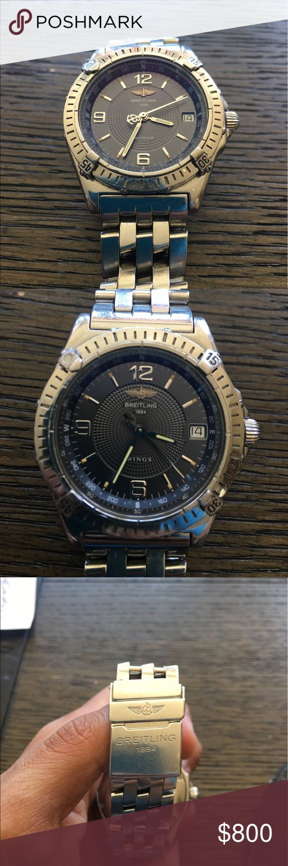 Breitling Wings Women's Watch Beautiful Used Breitling Wings Women Watch A10050 Breitling Accessories Watches