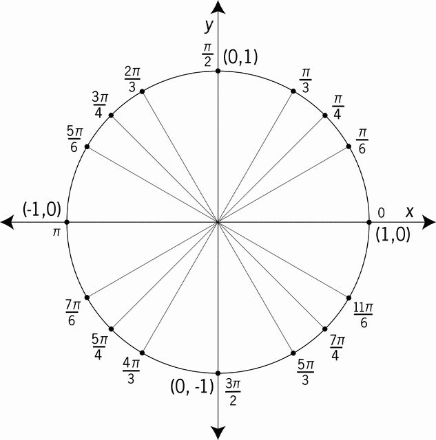 40 Blank Unit Circle Pdf In 2020 With Images Blank Unit Circle