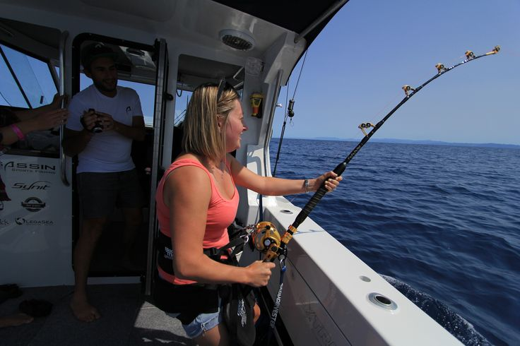 Hooked up to a Marlin