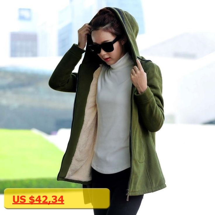 2017 Autumn Winter Women Hoodies Cotton Zip-up zipper Solid Army Green Hooded Casual Hoodies Sweatshirts Plus Size S-4XL A926