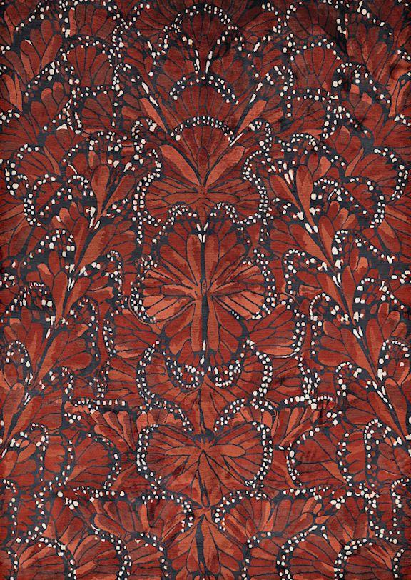 L'envie du jour : le tapis « ailes de papillon »