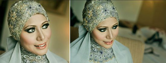 bridal hijab tutorial | Bridal Hijab Styles 2013 Video Tutorial ppp1
