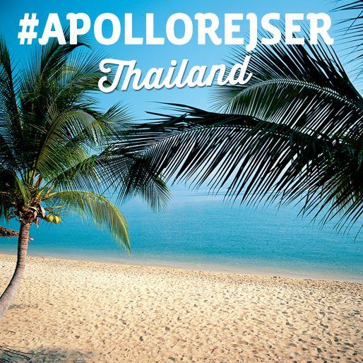 Få inspiration til din ferie.. Vi har fokus på smilenes land - Thailand. Du kan læse mere her: http://www.apollorejser.dk/rejser/asien/thailand
