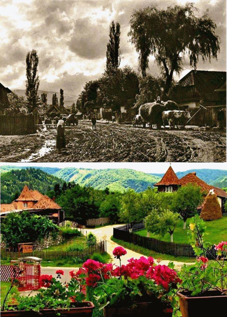 SATUL ROMÂNESC, DE IERI ȘI DE ASTĂZI Cultura populară românească s-a format odată cu poporul din care facem parte, ca o cultură carpa...