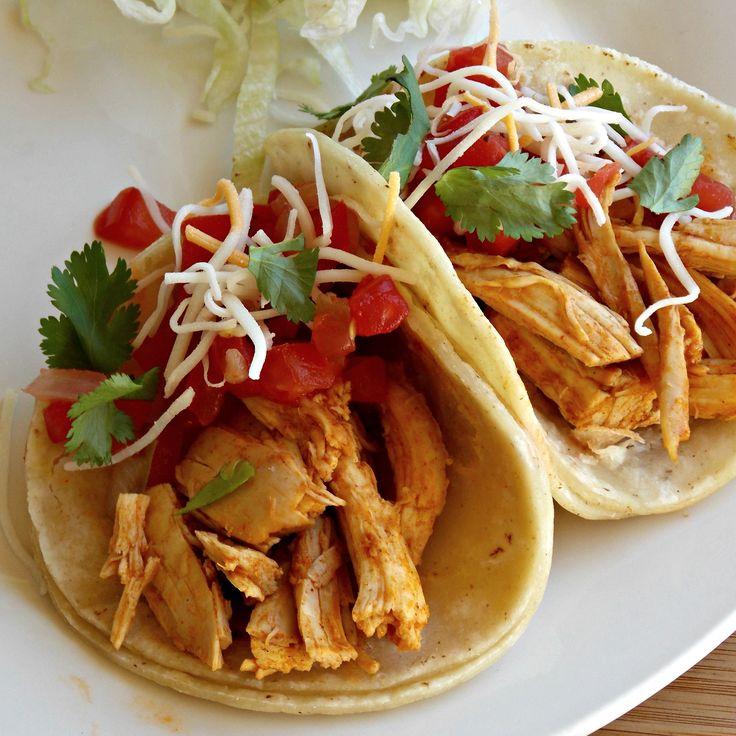 Roasted Chicken Tacos