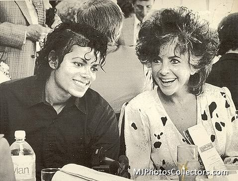 1986 : April, Michael attends openning of the Hollywood Park Race Tracks, with Liz Taylor, Inglewood, CA   Curiosities and Facts about Michael Jackson ღ by ⊰@carlamartinsmj⊱