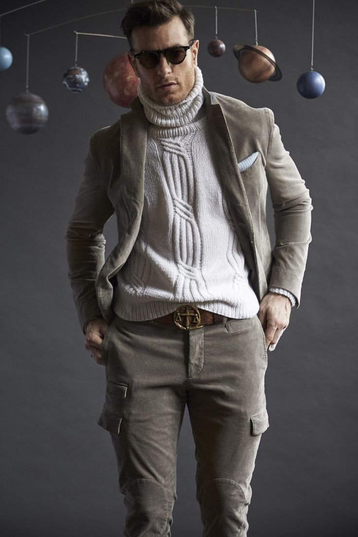 Michael Bastian Fall 2016 Menswear Fashion Show. I feel like Michael Bastian was thinking about the moon for this look.